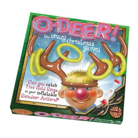 O-Deer Gold Rings Family Christmas Game By House Of Marbles - Age 3 Plus